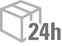 24-Stunden-Lieferservice innerhalb Deutschlands