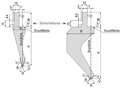 UKB System A Typ Amada - Oberwerkzeugaufnahme