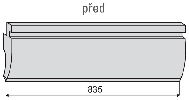 835er Länge ganz