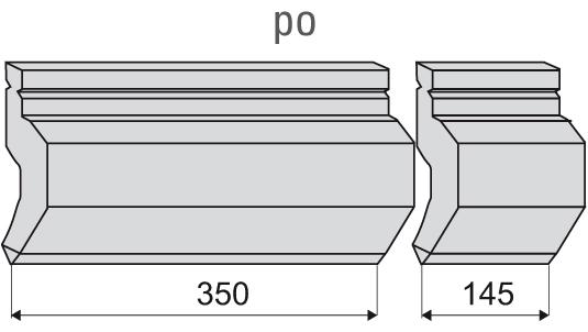 Trennschnitt 500er-Länge gestückelt